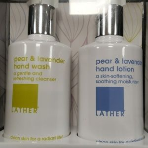 Hand wash and lotion